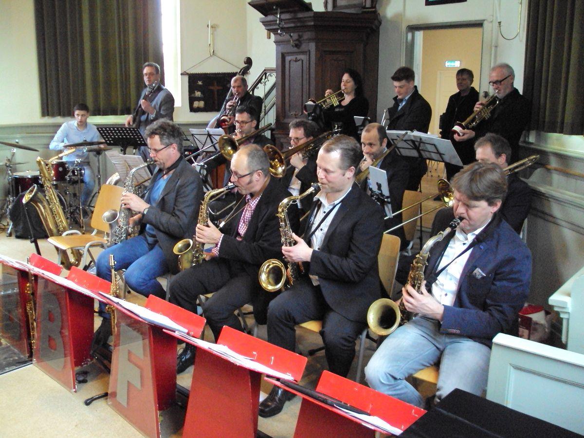 Optreden Big Band Friesland